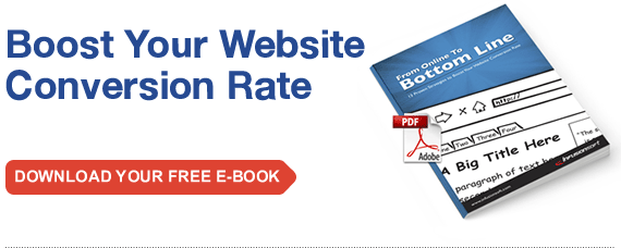 Boost Your Website Conversion Rate. Download Your Free E-Book.